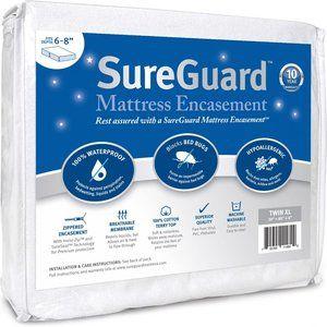 SureGuard Mattress Encasement Waterproof Twin XL